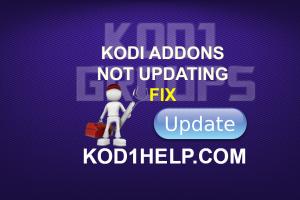 KODI ADDONS NOT UPDATING FIX