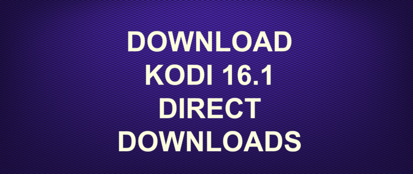 download android jarvis kodi 16.1