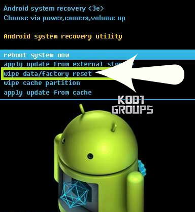 ANDROID STUCK ON LOGO SCREEN -
