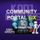 COMMUNITY PORTAL FIX