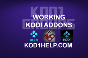 WORKING KODI ADDONS