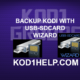BACKUP KODI WITH USB-SDCARD WIZARD