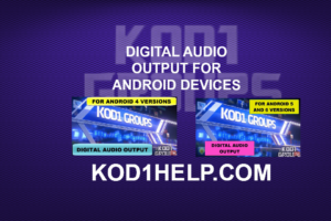 DIGITAL AUDIO OUTPUT FOR ANDROID DEVICES