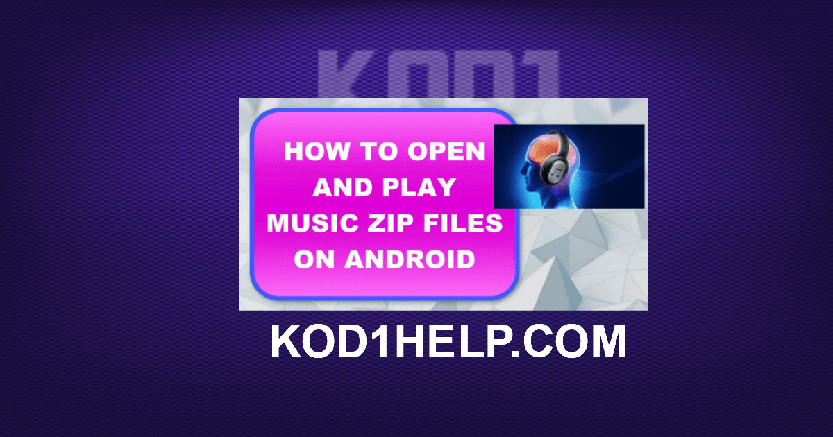HOW TO OPEN AND PLAY MUSIC ZIP FILES ON ANDROID -
