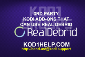3RD PARTY KODI REPOSITORIES NEW -